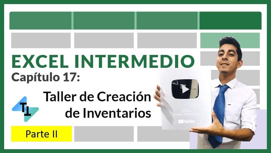 miniatura del taller de creación de inventarios con excel - parte 2