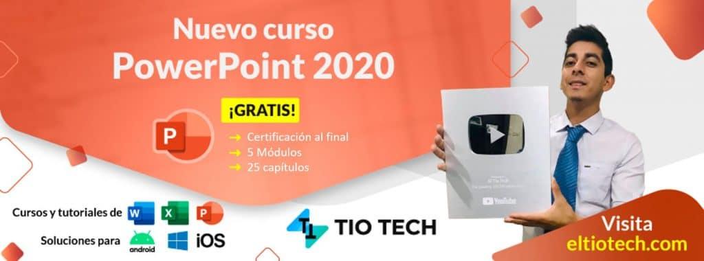 Curso de PowerPoint - El Tío Tech