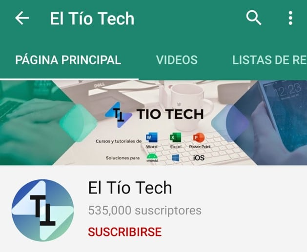 suscribete a el tio tech