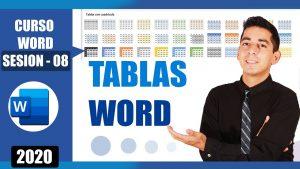 crear y editar tablas en word