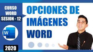 opciones de imágenes en word