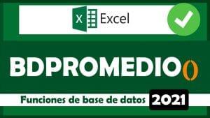 Miniatura - Función BDSUMA Excel