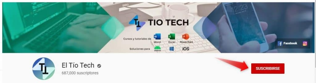 canal el tio tech en youtube