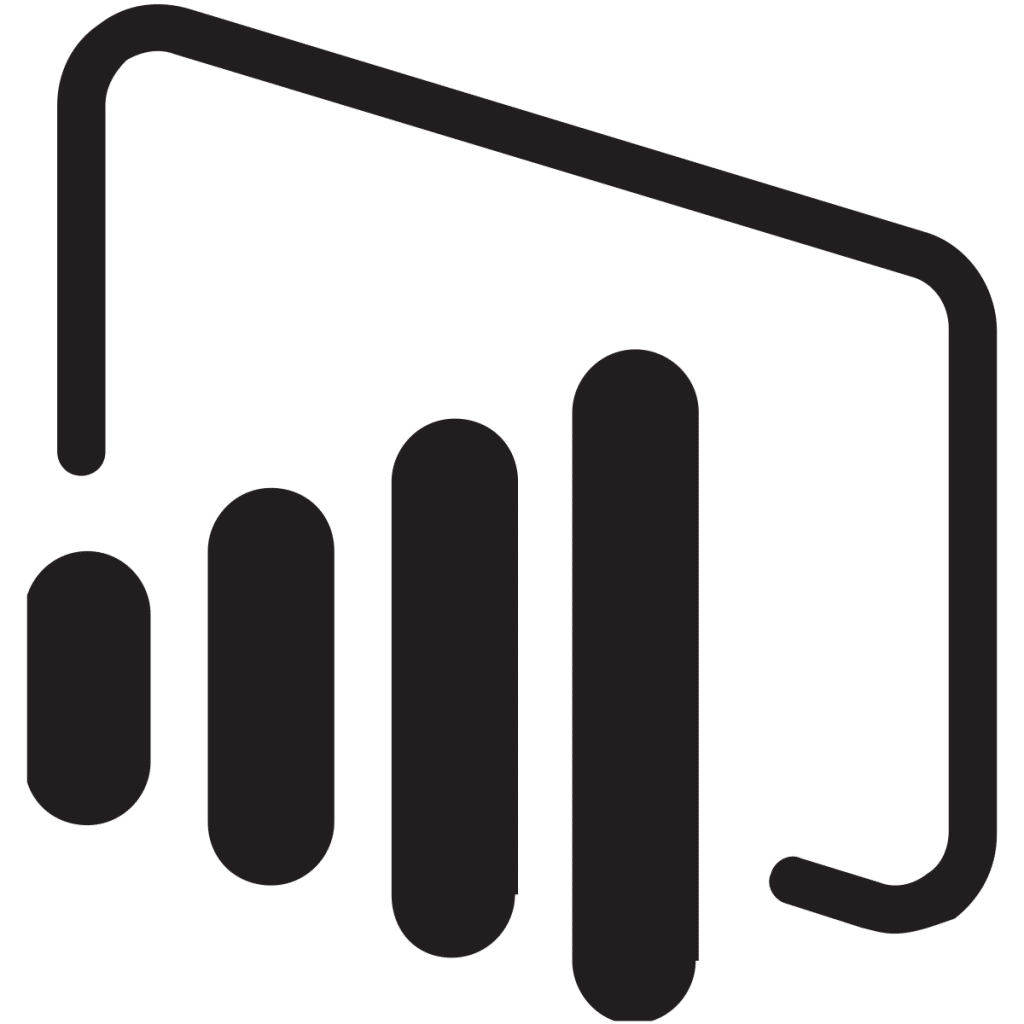 logo power bi en png - el tio tech
