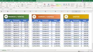 miniatura - tutorial de contabilidad en excel