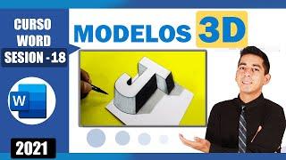 Miniatura, cómo usar los modelos 3D en Word