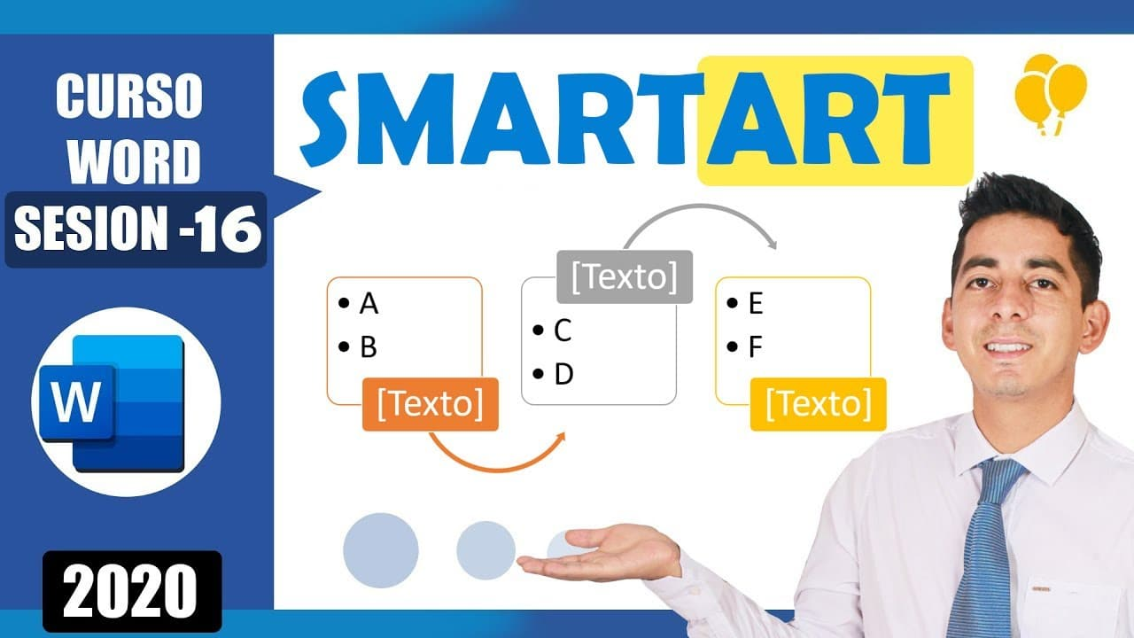 miniatura - smart art en word
