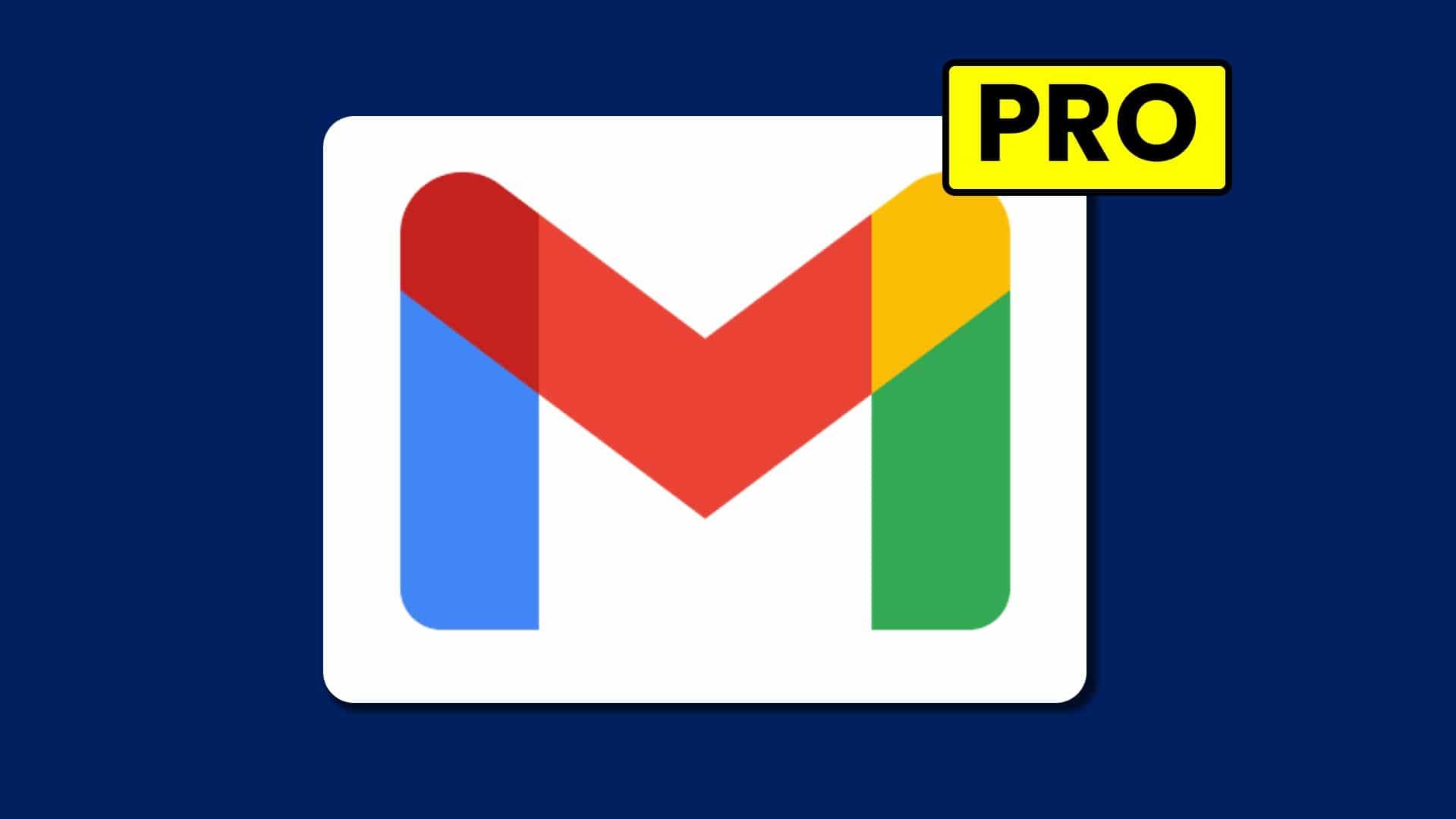 Logo gmail en fondo azul, El Tío Tech