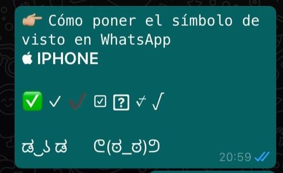 simbolo visto en iphone